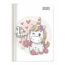 Agenda 12 mesi settimanale 2020 Ladytimer Unicorn