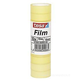 Confezione 10 rotoli di nastro adesivo Tesafilm Standard