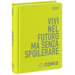 Agenda Comix 2018-2019. Diario 16 mesi mini. Verde mela